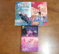 Thor By Jason Aaron Complete Collection Vol. 1 2 3 Set Tpb Gn Sc Oop 2019 Marvel