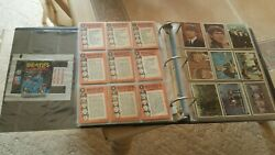 Beatles Trading Cards 6 Complete Sets With Wrappers 1960s Vg To Ex