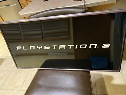 Mt. Vernon Playstation 3 Store Display Sign Ps3 Lit Rare Working