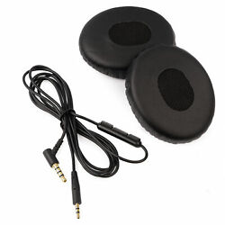 Cable And Ear Cushion Kit For Bose Oe2 / Soundtrue Headphones - Inline Lead And Pads