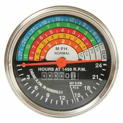 New Tach Tachometer For Case/international Tractor 400 W400 450 W450