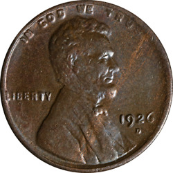 1926-d Lincoln Cent Great Deals From The Executive Coin Company