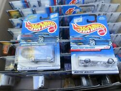 Hot Wheels Vintage Cars Lot Of 73 Year 2000 All Lot B New In Box