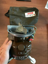 Vintage Coleman Peak1 Model 400 Dated 10 80 Backpack Cook Stove Collectible USA $139.99