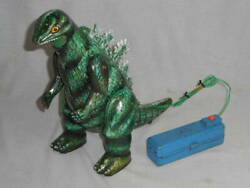 Marusan Toy Antique Gozilla Figure Vintage Tinplate Toy Free Shipping From Japan