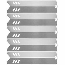 5 Pcs 15 Stainless Steel Bbq Gas Grill Heat Plate Shield Tent For By13-101-001-
