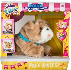 Little Live Pets My Kissing Puppy Rollie New