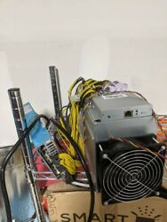 Bitmain Antminer L3+ With Apw 3++ Power Supply Scrypt Ltc Doge 504 Mh/s 220v