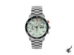 Zeppelin Eurofighter Automatic Watch, Pvd, White, 43 Mm, Day And Date, 7218m-5