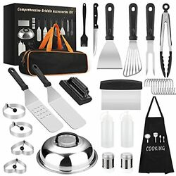 31pcs Barbecue Accessories Tools Kit Stainless Steel Grilling Utensil Set