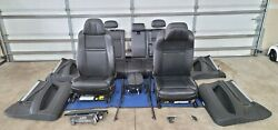 10 11 12 13 Bmw E70 X5 M Black Interior Seat Front And Rear Set Oem Seats And Trim