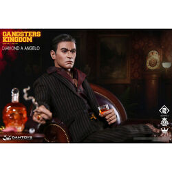 Damtoys Gk023 1/6 Gangsters Kingdom Diamond A Angelo Collectible Action Figure