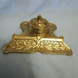 Rare Antique Japanese Inkwell From The Early 1900s