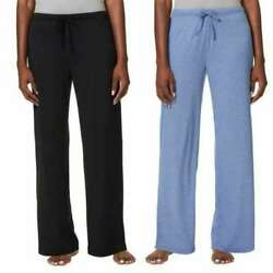 32 Degrees Womens Cool Black Blue Soft Sleep Pants Size Xl Pack Of 2