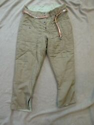 Reproduction Russian Ww2 Model 1941 Winter Padded Trousers X-large Pants