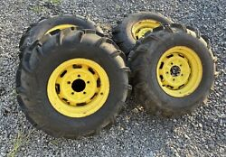 John Deere Xuv825i Gator Front And Rear Tires And Rims Set 26x9.00x12 26x11.00x12