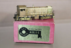 Key Imports N Gauge Brass Un Painted Alco S-3 Switcher Locomotive Boxed Nz