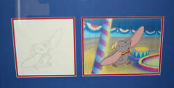 Disney Disney Dumbo Cels Original Drawings Limited Rare Difficult To Obtain Rare