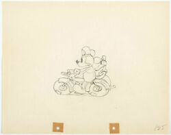 Disney Disney Mickey Mouse Donald Duck Cels Original Drawings Limited Rare Dif