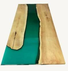 5and039x3and039 Epoxy Resin Coffee Table Top Handmade Home Furniture Decor Wooden K20