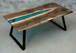 5and039x3and039 Epoxy Resin Coffee Table Top Handmade Home Furniture Decor Wooden K23