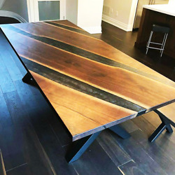 5and039x3and039 Epoxy Resin Coffee Table Top Handmade Home Furniture Decor Wooden K33