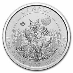 2021 Canadian 2 Oz Silver Creatures Of The North Werewolf - Sku237395