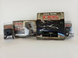 X-wing Miniatures Mini Lots Tie Aces Expansion Base Game And Empire Upgrade Dial