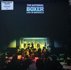 The National Boxer Live In Brussels Clear Colored Vinyl Lp Brand New Sealed