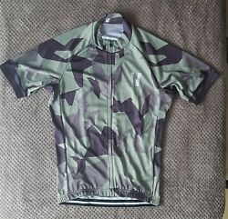 Maillot Jersey Void Cyclisme Camo Small Neuf