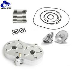 64-66mm For Pro Design Cool Head 15cc Domes O-rings Studs Kit Banshee 350 87-12