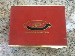 Vintage Procor Limited Advertising Playing Cards Rail Car Freight Train Congress
