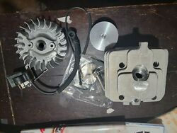 Pioneer Chainsaw P60 P61 P62 Piston Cylinder Updated Engine Kit New Oem Boost...