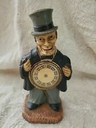 Lux The Drunk Figural Novelty Clock - No Hands