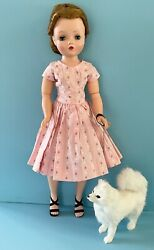 Doll Accessory Fur Dog For Vintage Madame Alexander Cissy French German Bisque