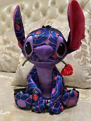 Disney Store 2021 Stitch Crashes Plush Beauty And The Beast Limited Release 1/12