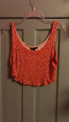 Forever 21 size small women#x27;s crop top $6.00