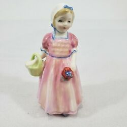 Royal Doulton Figurine Tinker Bell Hn1677 Copr. 1935 Young Lady In Pink Dress
