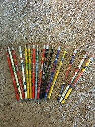New Lot Of 16 1993 Team Nfl Football Pencils Bears Broncos Packers Eagles Colts
