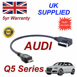 For Audi Q5 Series Ami Mmi 4f0051510m Mp3 Phone Micro Usb Cable Replacement