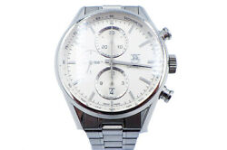 Tag Heuer Carrera Automatic Car2111.ba0720 Chronograph Date Menand039s Watch Wl38271