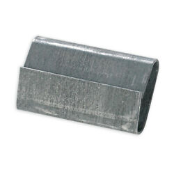 Closed/thread On Regular Duty 5/8 Steel Strapping Seals Silver - 50000 Pieces