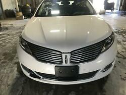 2013-2016 Lincoln Mkz Front End Assembly Less R-fender Vin U 8th Digit 1515a