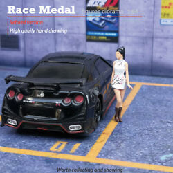 Racemedal 164 Scale Figures Diorama Oriental Beauty Cheongsam Model 1/64collect