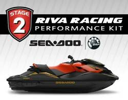 Seadoo Rxp-x 300 Stage 2 Kit 80+mph Riva Power Filter Maptunerx Catch Can Solas