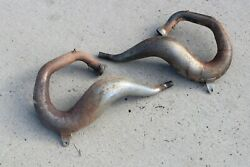 Yamaha Banshee Fmf Fatty Exhaust Pipes Headpipes Only Left + Right 1987-2006 M