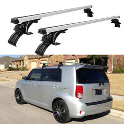 46 Car Top Roof Rack Cross Bar Luggage Bicycle Carrier Aluminum X2 For Scion Xb