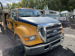 Ford F650 Xl Super Duty Hood Assembly Oem Complete See Pics