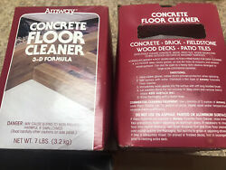 Rare Amway Concrete Floor Cleaner Sealed Discontinued 3-d Formula 7 Pounds Lbs
