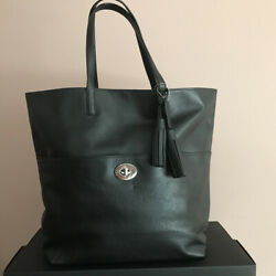 NWT Coach Leather Turnlock Tote 26461 $149.00
